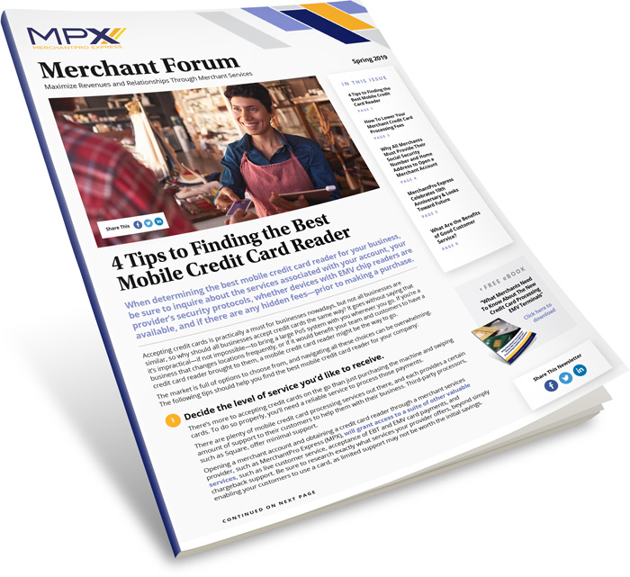 MPX Quarterly Newsletter Spring 2019